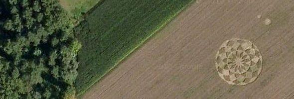 círculos da colheita fotos