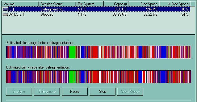 disk-desfragmentação