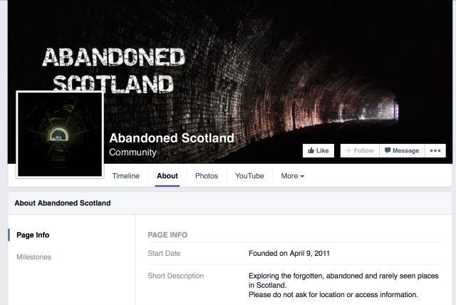 abandonado Scotland