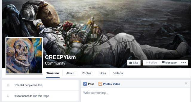FB CREEPYism imagem