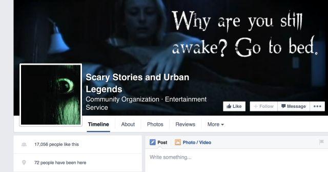 Histórias de terror e lendas urbanas