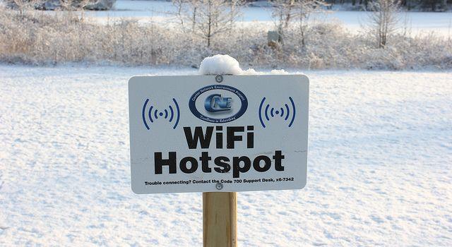 Wi-Fi ponto de acesso
