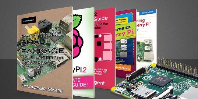 10 Grandes livros raspberry pi cheios de idéias de projetos
