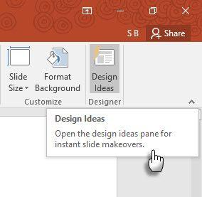 Idéias de design em PowerPoint