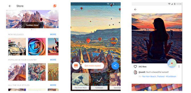 Usando Prisma para a arte de mídia social
