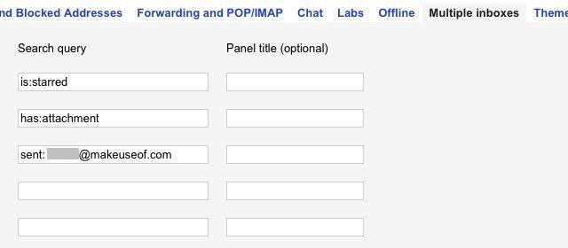 -gmail-configure-múltiplas caixas de entrada