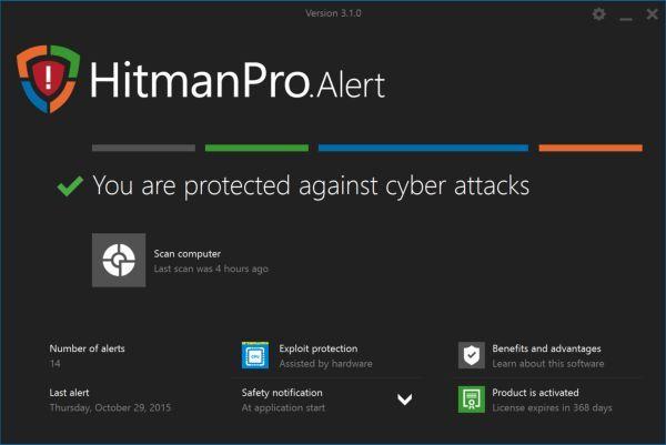 Hitman ransomware Alert Pro