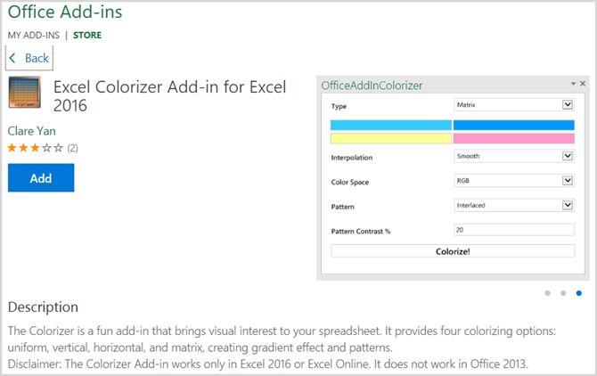 Adicionar Instale Excel Add-Ins