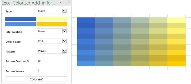 Excel Add-in Excel Colorizer