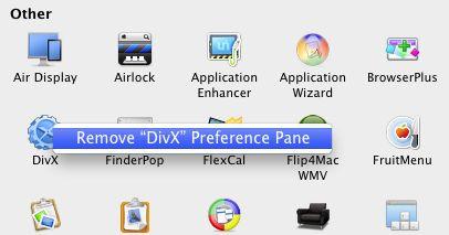 Mac preferências