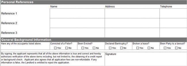 Vertex42 aplicação de aluguer