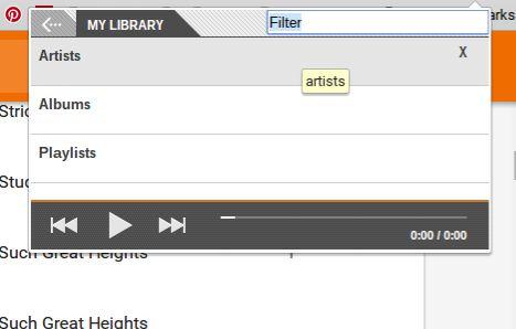 Music Plus Para o Google Play Biblioteca