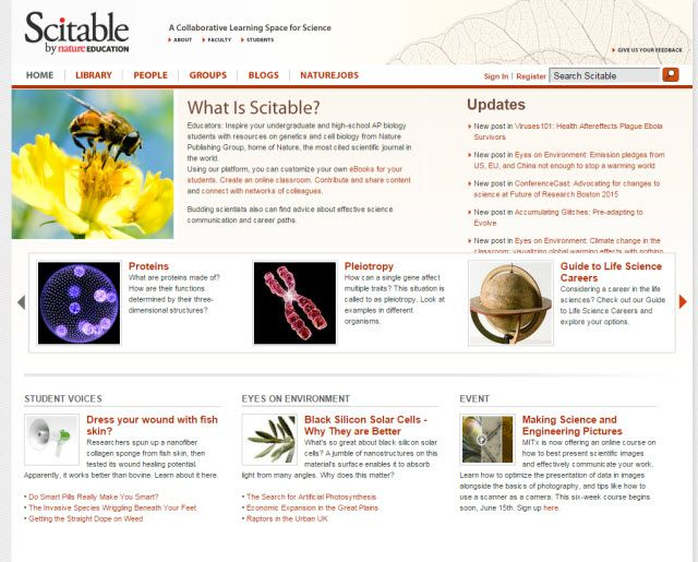 Online Learning-Scitable