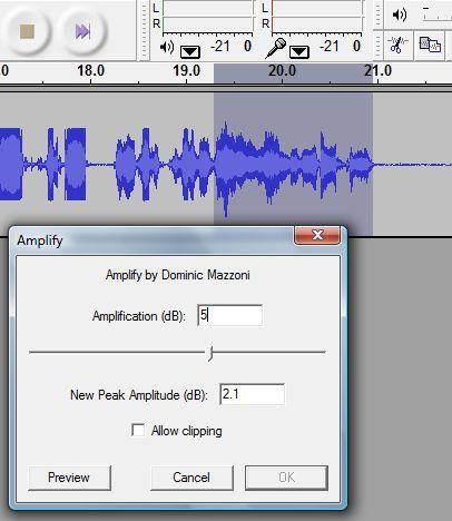 software de gravação de áudio audácia