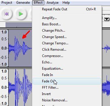 editor de áudio audácia