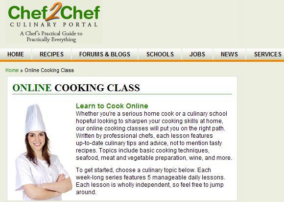 aprender a cozinhar bem