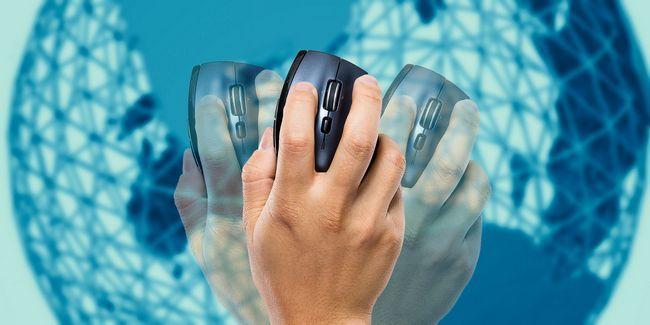 Procurar gestos mais rápidos e melhores com rato