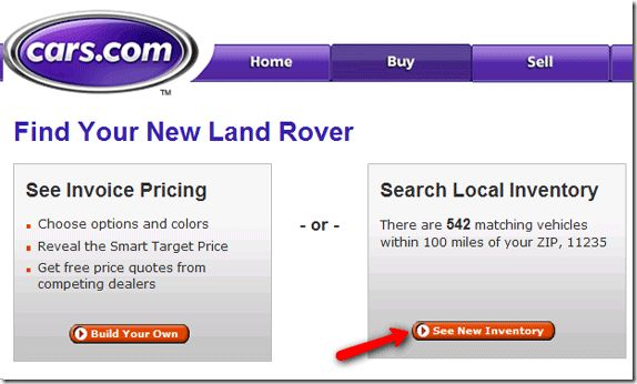 onde posso investigação ou comprar um carro novo