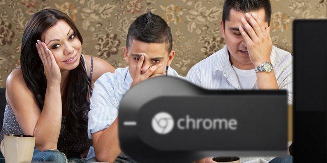 4 Erros chromecasts que poderia ser embaraçoso ou pior