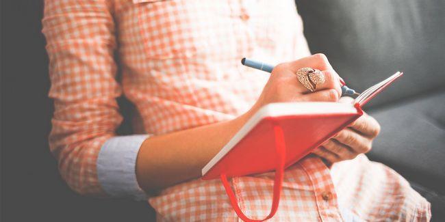 Comece este hábito simples de foguete a sua produtividade: journaling