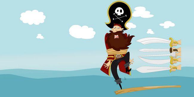 4 Razões que você não precisa ser um pirata mais