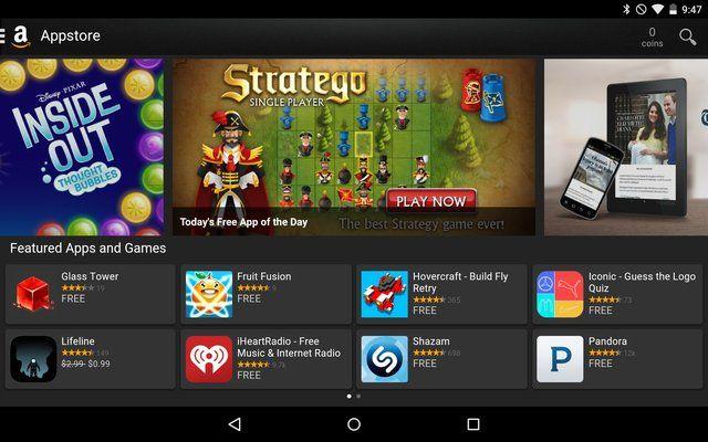 AndroidGooglePlay-Amazônia-Appstore