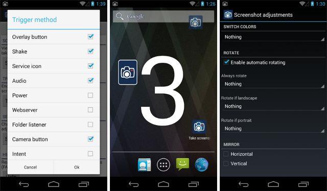 android Screenshot--aplicações de última