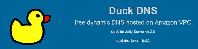 free-dynamic-DNS-duckdns