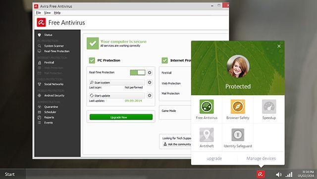 -Windows-segurança Avira