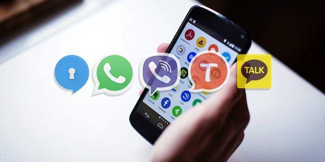 5 Melhores aplicativos de mensagens gratuito para android