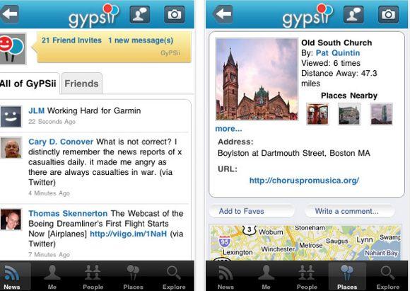 rede social móvel