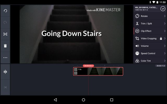 AndroidVideoEditors-KineMaster-Edit