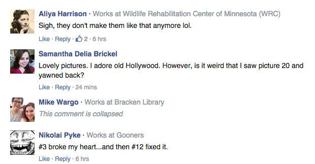 Facebook comentários