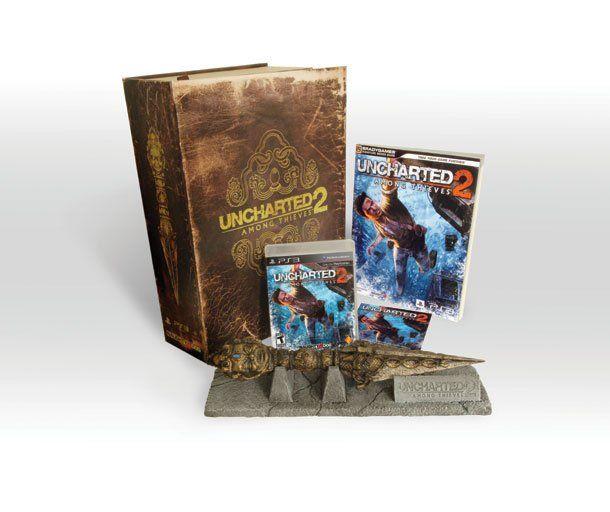 Uncharted 2 Fortune Hunter Edição