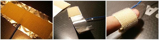 eléctrodo de dedo para um detector de mentiras diy
