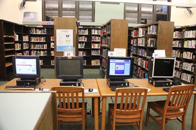 biblioteca de computadores