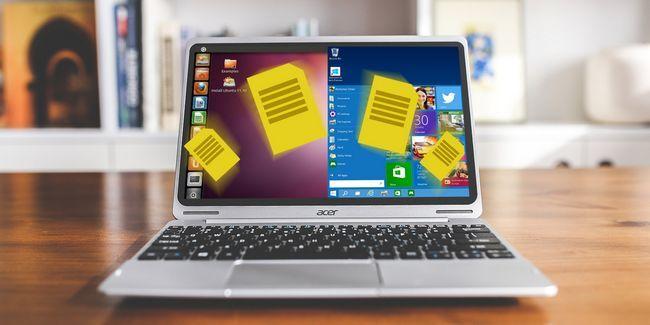 5 Maneiras para compartilhar dados pessoais no linux-pcs windows dual boot