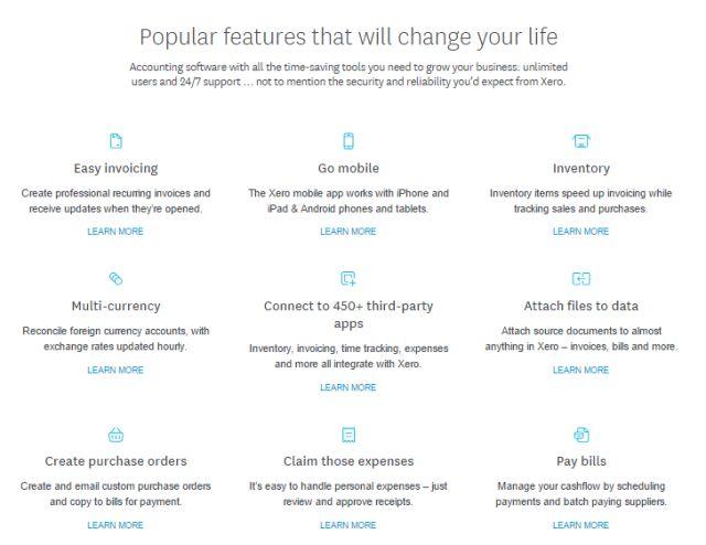 Xero-features