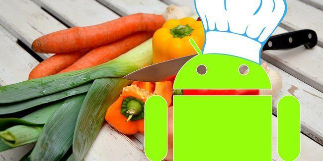 5 Maneiras seu dispositivo android pode ajudá-lo na cozinha