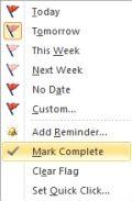 Outlook 2013 Marcar Flags completa