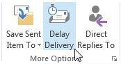 Outlook Delay Scheduler Entrega Email