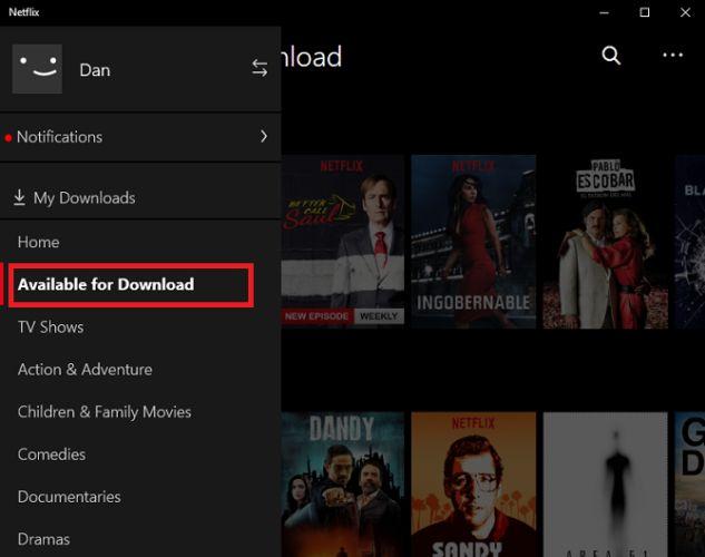 Netflix baixar o Windows 10