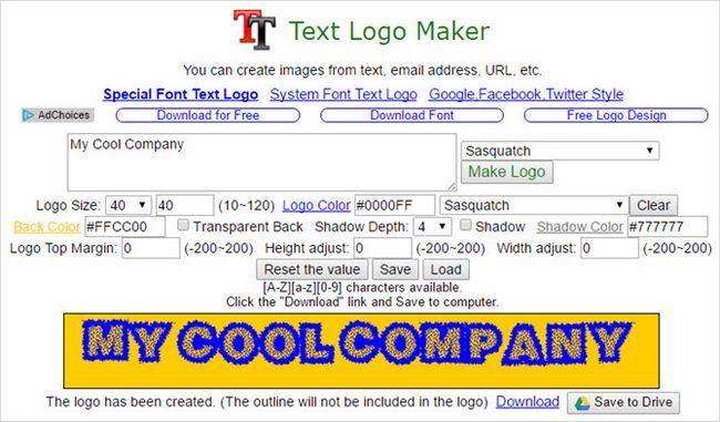 logotipo do texto aplicativo fabricante de cromo