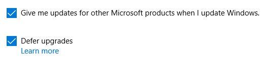 Windows 10 Upgrades Adiar