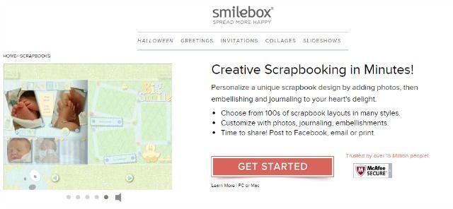 Smilebox imagem