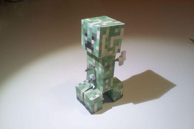minecraft-DIY-windup-trepadeira