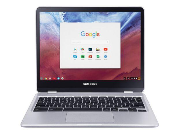 Chromebook Samsung mais