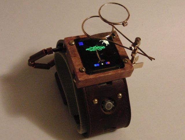 steampunk-relógio