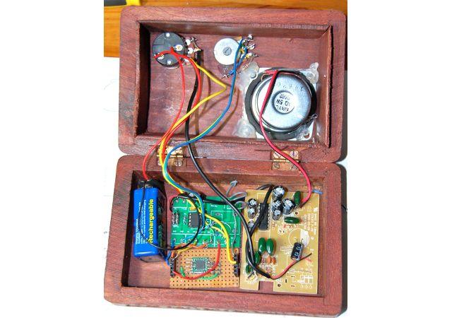 rádio-componentes