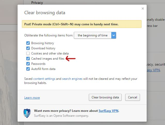 claras-windows-cache-web-browser